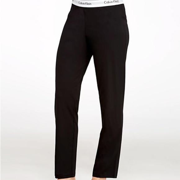 9f62eb7ceedc Calvin Klein Modern Cotton Pajama Pants